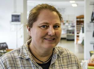 Marita Östberg på Ekmans Hem & Färg är med i Alfta centrumförening. Hon värnar fettisdagstraditionen.
