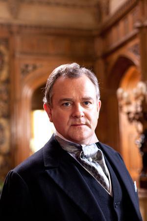 Karaktären Robert Crawley, earl av Grantham (Hugh Bonneville), är kraftigt idealiserad.