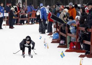 Albin Ponsilouma stakade sig igenom hela loppet och var först över mållinjen.