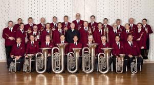 Söderkårens musikkår som i helgen gästar Dalarna, med konserter i Dala-Järna och Hedemora.