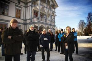 Byborna i Kårböle värnar om den anrika fastigheten.