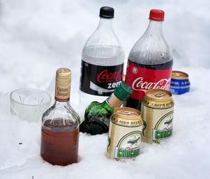 Några problem att kyla medhavda drycker var det inte.
