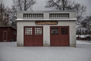 Bilaffären är en affär som tidigare fanns på riktigt  i Östersund.