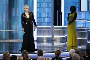 Meryl Streep kritiserade Trump.