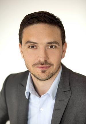 Henric Byström, kommunikationschef på Carlsberg.