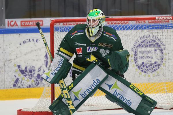 Tim Juel noterades för fantastiska 96,67 i räddningsprocent mot Sundsvall. ÖIK-målvakten visade än en gång klassen.