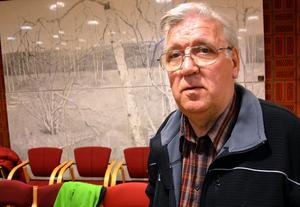 Erik Rapp (S), ordförande i Ånge kommuns bygg- och miljönämnd.