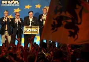 Ingen belgare. Bart de Wever, ledaren för Flanderns största parti, tycker inte att staten Belgien har någon framtid.foto: scanpix