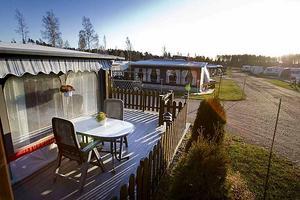 Och såhär soligt och fint var det på Årsunda camping den 5:e december.