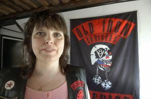 Anette Storm är ordförande i Old Iron Cruisers Hälsingland. Ordning, struktur och regler är viktiga, tycker hon.