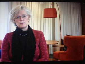 Svenskt Näringslivs Carola Lemne stod svarslös i Aktuellt.