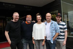 Sebastian Andersson, Hans Carstensen, Anna Gaude (evenemangsansvarig på Söders källa), Stefan Söderblom och Mathias Heldevik mötte upp med Arbetarbladet för att berätta om Gasta-hösten.