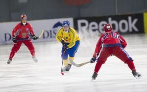 Både det svenska och det ryska landslaget kommer till Trollhättan i december.