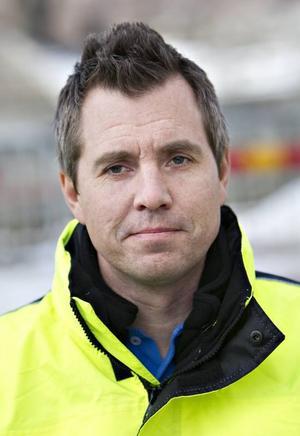 Karl Blad är chef för enheten Gata och park på Livsmiljö Gävle.