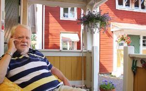 – Lanthandeln är bara en del i det som försvunnit på landsbygden, säger Ronny Svensson, landsbygdsforskare, som efterlyser radikala statliga grepp för att motverka den här utvecklingen. Foto: MATS RÖNNBLAD