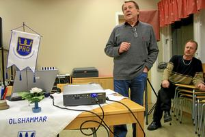 Olshammar ska leva, tycker både Hans Pettersson och kommunalrådet Per Eriksson (S). På måndagskvällen presenterades ett flertal idéer om hur.BILD: JESSICA UHLIN