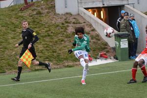 Fem assists på fem matcher är facit hittills för Simon Stenberg.