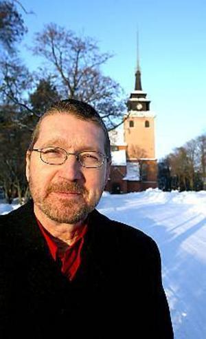 Foto: NICK BLACKMON Ny kyrkoherde. Thomas Erixon är tillförordnad kyrkoherde i Sandviken sedan årsskiftet.
