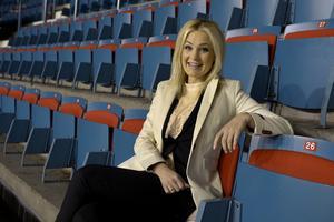 Ida Björnstad är initiativtagare till GeBortTillSport och blev chockad över att svenska folket var så generöst under söndagen då 29 ton sportutrustning skänktes under GeBortTillSport-dagen.