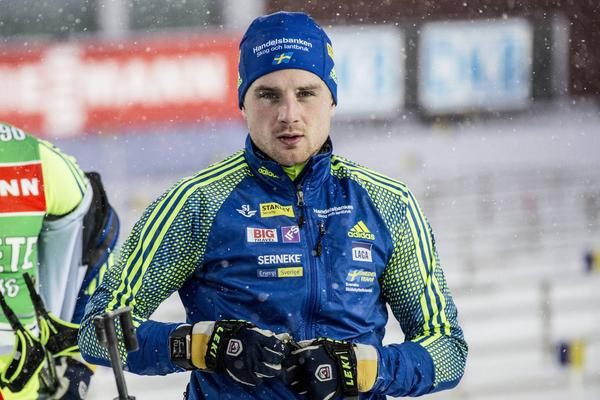 Jesper Nelin hade en bra dag på skjutvallen men inte i spåret. – Jag hade inget att ge där, säger han.
