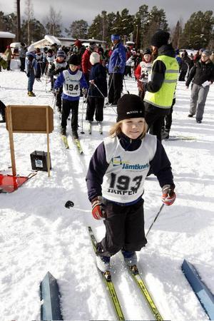 Cirka 370 barn och ungdomar var anmälda till årets Västjämtska tävlingen i Järpen.
