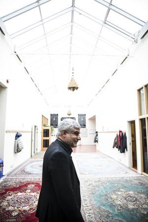 Ahmad Berazi känner till mosképlanerna i Borlänge.