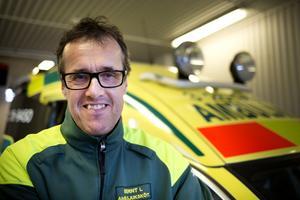 Bernt Lagelius fick utmärkelsen som bästa ambulansjuksköterska i Sverige 2016