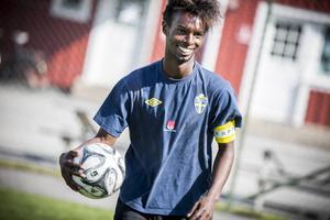 Deeq Mohamed spelade med ett leende på läpparna under hela turneringen.