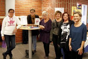 Britt-Louise Nyholm, Ulla Johansson Wallberg, Annica Welander, Carina Söderlund, Pernilla Eurenius och Susanne Wadell ingick i planeringsgruppen inför mässan.