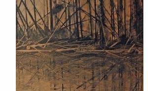 Alannah Robins från Irland har fångat stämningen också i teckningar som knyter an till Norns läge som isolerad bygd. Både isoleringen och berättelserna går att jämföra med irländska miljöer.