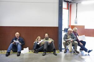 Deltagarna blev fler än beräknat, alla fick inte plats på stolarna. Foto:Stina Rapp