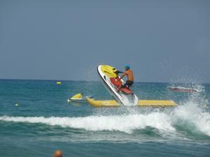 Bilden är tagen på stranden i Rethymnon på Kreta. Under en semestervecka med min familj.