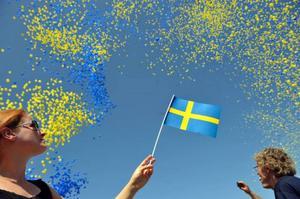 Nationaldag och svenska flaggans dag på lördag.
