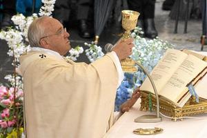 En ny syn. Påven signalerar en ny syn på homosexuella i världens största trossamfund. Arkivfoto: Andrew Medichini/TT-AP