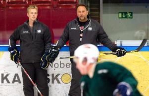 Björn Östlund (till vänster).
