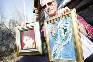 Peter Lloyd har öga för konstbluffar. Han håller i 40-50 utredningar om falsk konst om året.