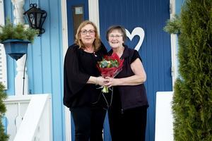 Marie Christensen och Gunilla Eklund.