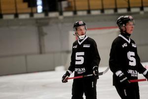 Erik Säfström på SAIK:s träning tidigare i veckan.