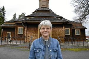 Ser framåt. Komminister Maria Ytterbrink ser positivt på framtiden i det nya pastoratet. Arkivfoto: Tove Svensson