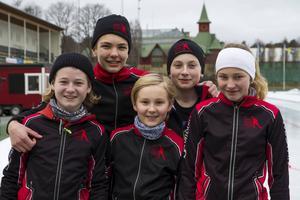 Clara Forslund (F14), Emil Klockar (P13), Anton Söderberg (P15), Leo Nilzén (P12) och Isac Forslund (P12) tävlade i Ungdoms-EM.