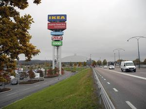 Borlänges nya centrum finns i ett tidigare industriområde.