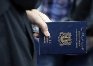 Från Syrien kan man inte ta sig legalt för att söka asyl i Sverige.