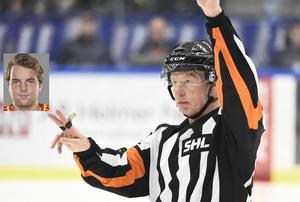 Domaren Morgan Johansson dömdes ut av Brynäs Ponthus Westerholm efter matchen mot Karlskrona. Nu ångrar Westerholm sitt uttalande och ska be om ursäkt.