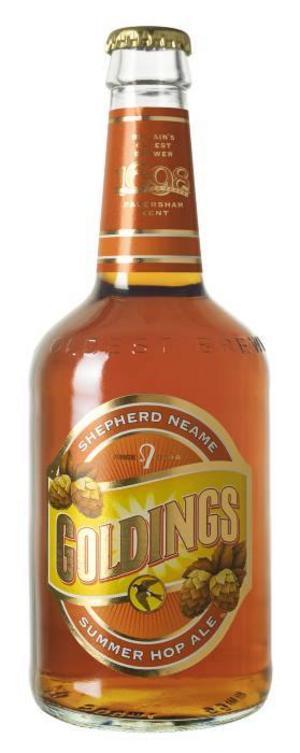 Goldings Summer Hop Ale, England-Storbritannien, 21.90 kronor, varunummer 1544.
