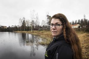 Erika Ekenberg  har aldrig varit någon stadsmänniska och trivs med att bo nära naturen.