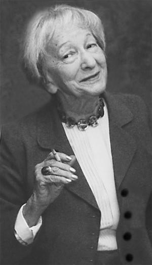 Milt ironisk. Poeten Wislawa Szymborska (1923–2012) vågade vitsa i sin nobelföreläsning. I dag utkommer en postum diktsamling.