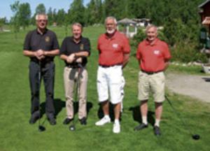Leif Ohlson, Leif Gustavsson Rolf Nordin och Leif Bodin. Bild: Björn Ahnesjö.