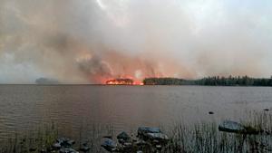 Anpassning krävs. Vänsterpartiet menar att den stora skogsbranden visar bristerna i beredskap. FOTO: VLT:s arkiv