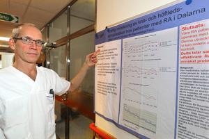 – I snitt får vi 50 nya patienter per år, säger verksamhetschefen Thomas Husmark.