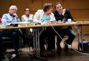 Äntligen. De båda socialdemokratiska kommunalråden AnnSofie Andersson och Jens Nilsson uttryckte en stor lättnad över att dagen kommit då de båda skulle få rösta igenom majoritetens förslag till en ny multiarena.